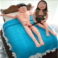 Image of girl and Boy cake for delivery