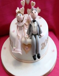 He She Cake Image for Party Delivery